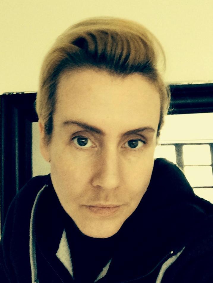 Self Portrait as a Man (Grindr Profile Photo)