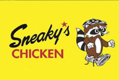 Sneaky's Chicken Logo