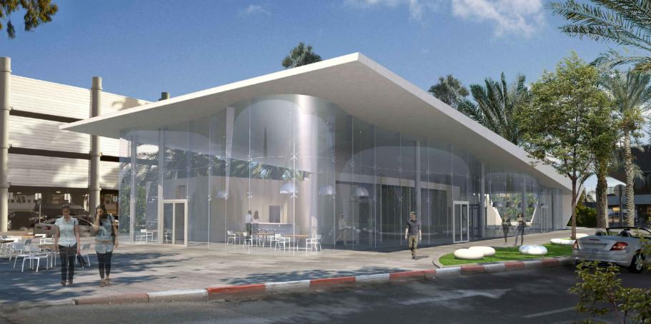 מבנה מסעדות - נמל תעופה בן גוריון