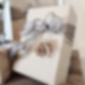 kraft paper wrapping - closeup - 1 rever