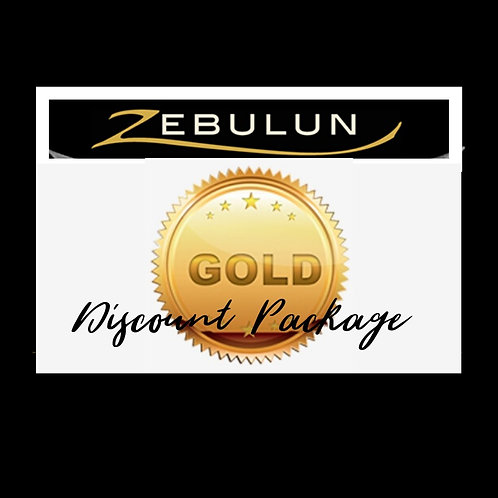 GIFT CERTIFICATE GOLD PACKAGE