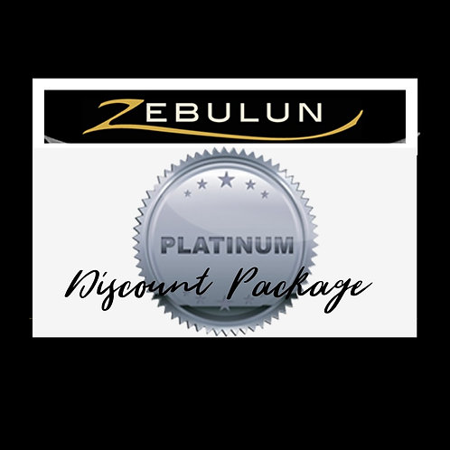 GIFT CERTIFICATE PLATINUM PACKAGE