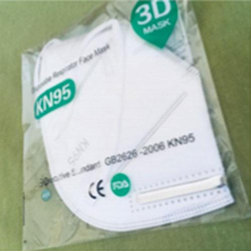 Caja con 100 piezas Mascarilla KN95
