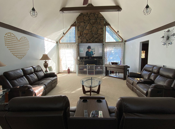 Luxury Adult Family Home Living Room