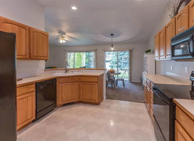 Luxury Adult Family Home Kitchen