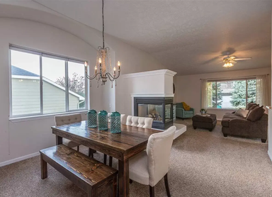 Luxury Adult Family Home Dinning Room