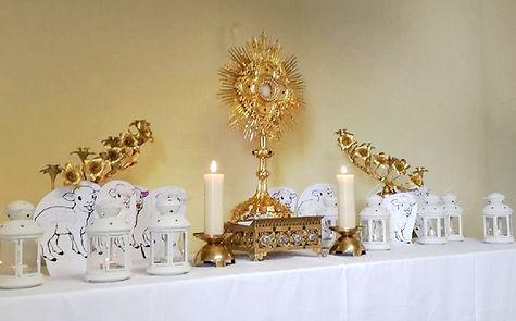 Temp d'Adoration et enseignement pour les enfants