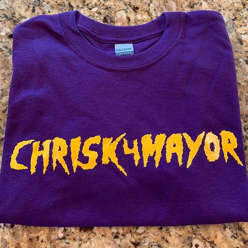 ChrisK4Mayor t-shirts