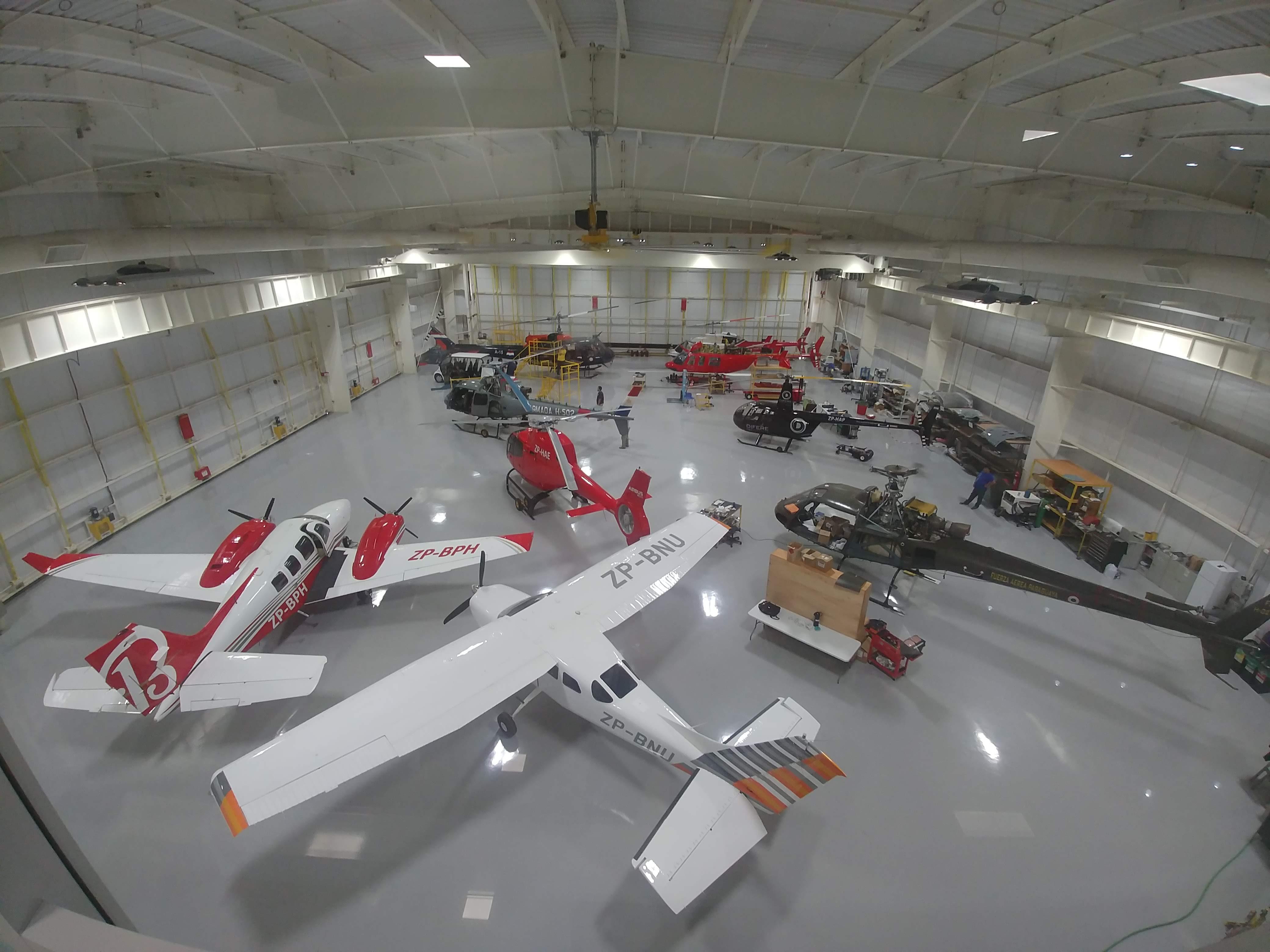 Hangar Helitactica