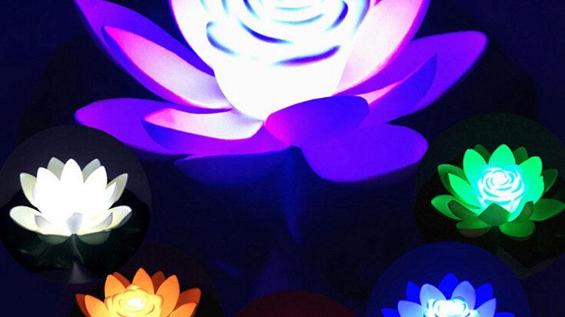 LED Energy Saving Lotus Lamp