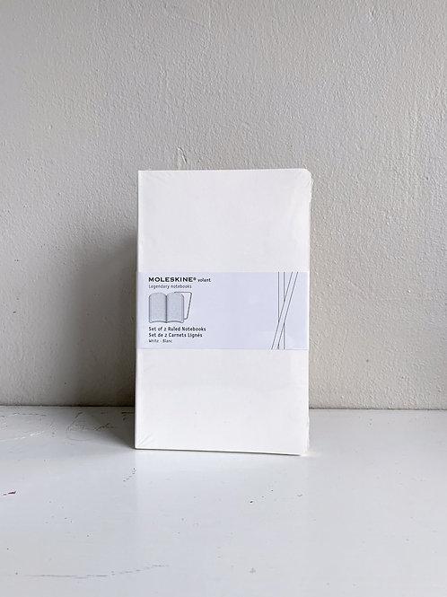 Moleskine: Set of 2 Ruled Notebooks, soft