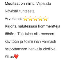 vapaudu ikävästä tunteesta meditaatio