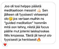 nopea meditaatio