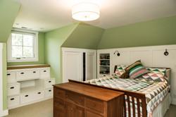 Master Bedroom with Hidden Storage
