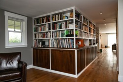 Library Cabinetry and Shelves