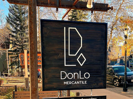 DonLo HDU wood sign - Breckenridge