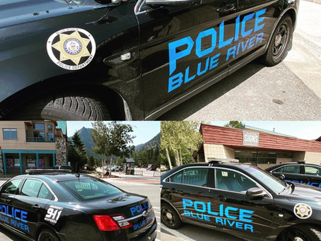 Blue River Police Patrol cars