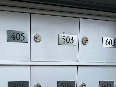 Swan's Nest Post office boxes, Breckenridge Colorado