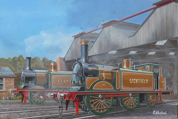 Railway painting