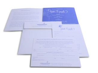 Nonprofit Fundraiser Invitation Package