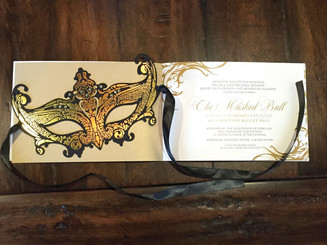 """The Masked Ball"" Invitation"