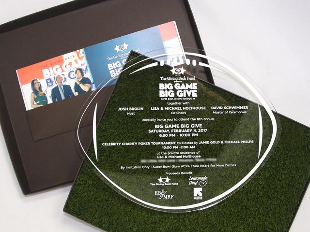 Big Give Gala Invitation Box
