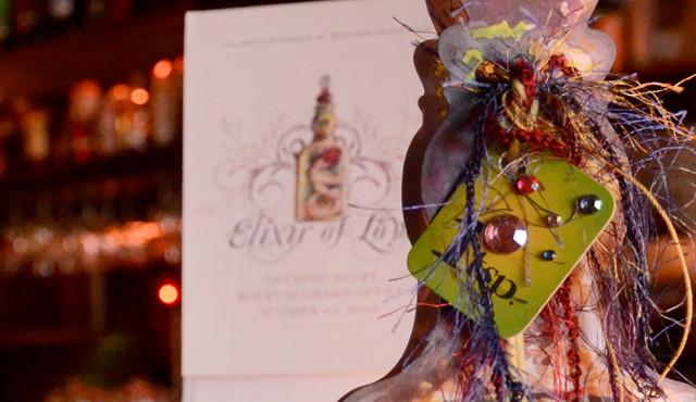 Elixer of Love Nonprofit Gala Invitation