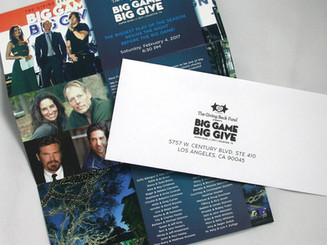 Big Give Gala Invitation