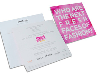 Fashion Show Invitation for Nonprofit Fundraising Event