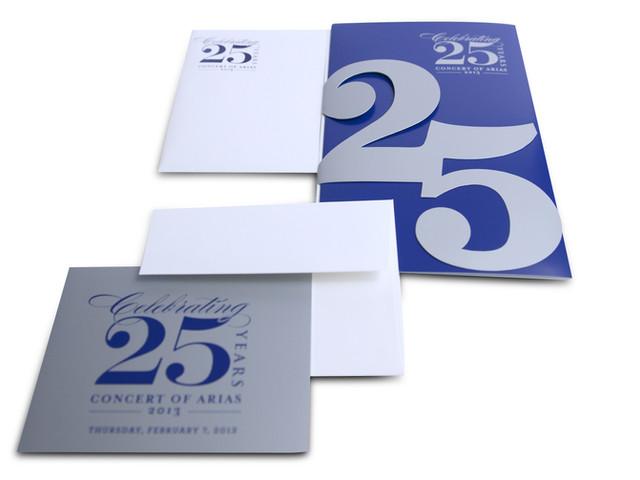 25 Year Anniversary Gala Invitatioin