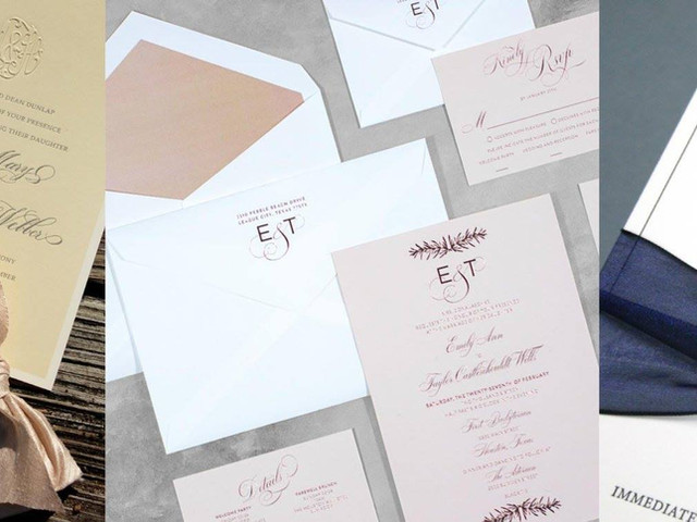 Custom Wedding Invitation Packages