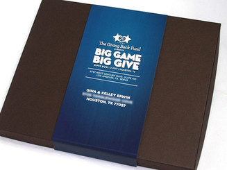 Big Give Nonprofit Gala Invitation