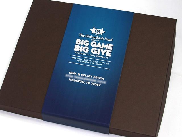 Big Give Nonprofit Gala Invitation