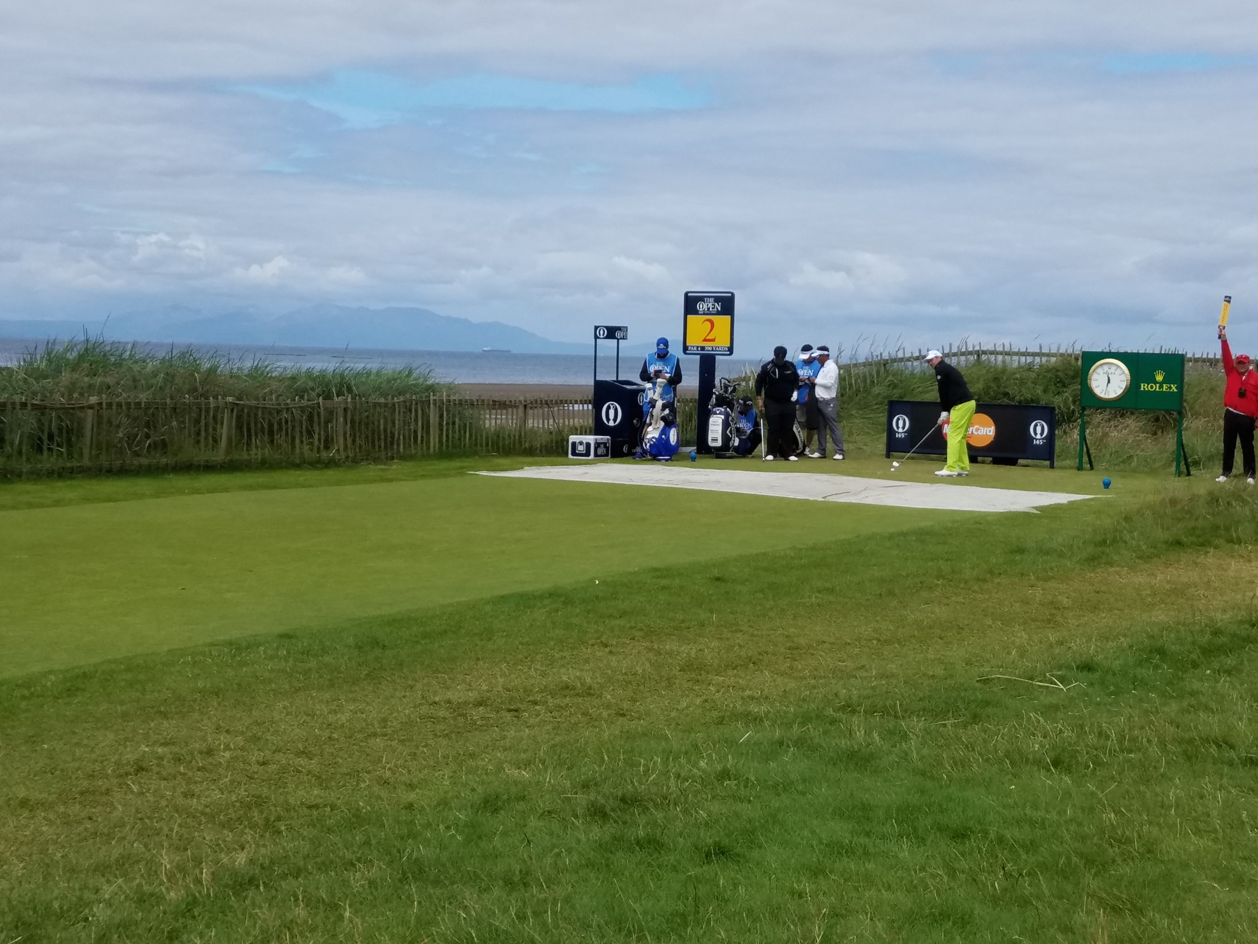 the open 2016 2nd tee
