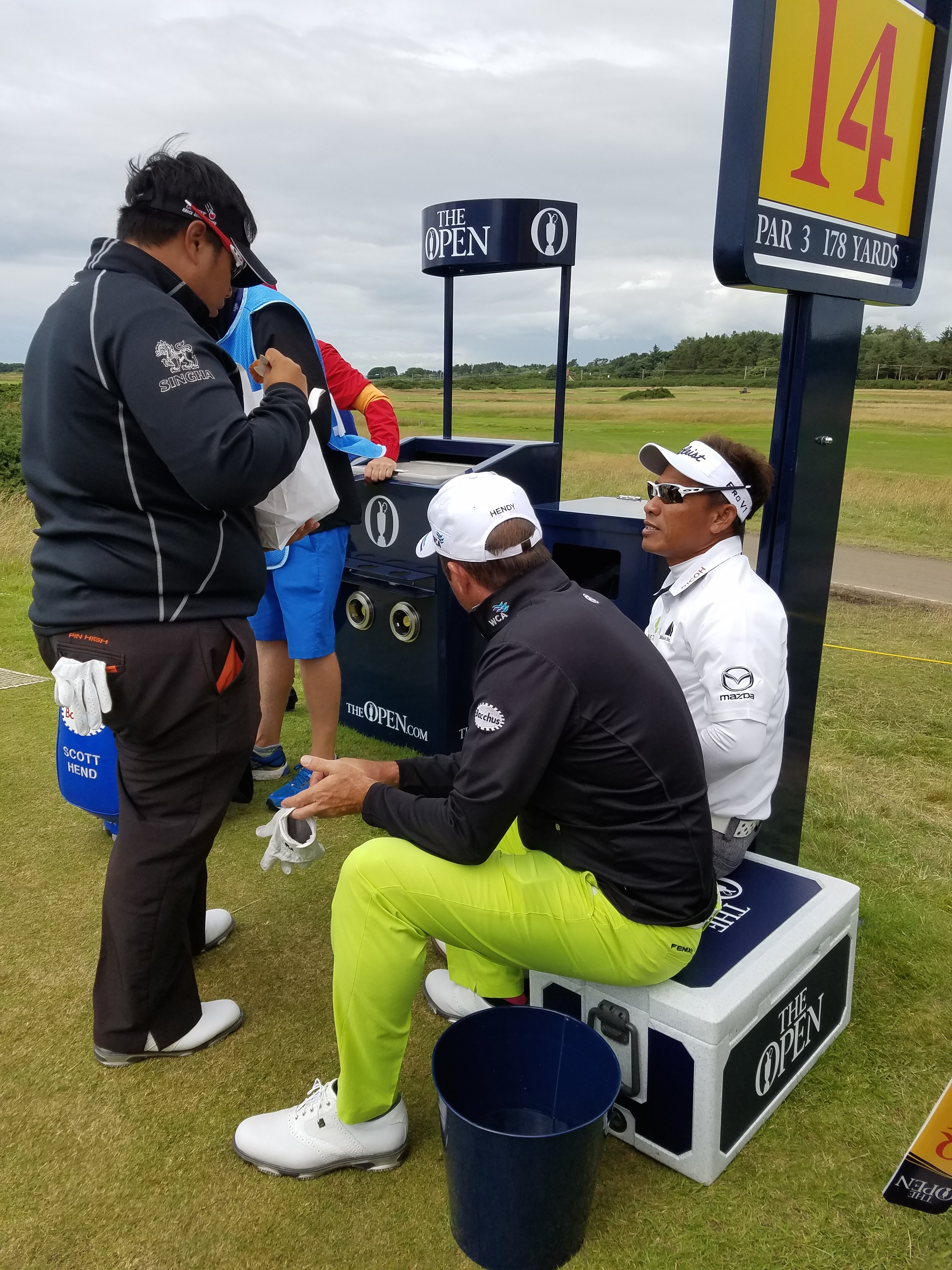 the open 2016 chips and chicken on 14