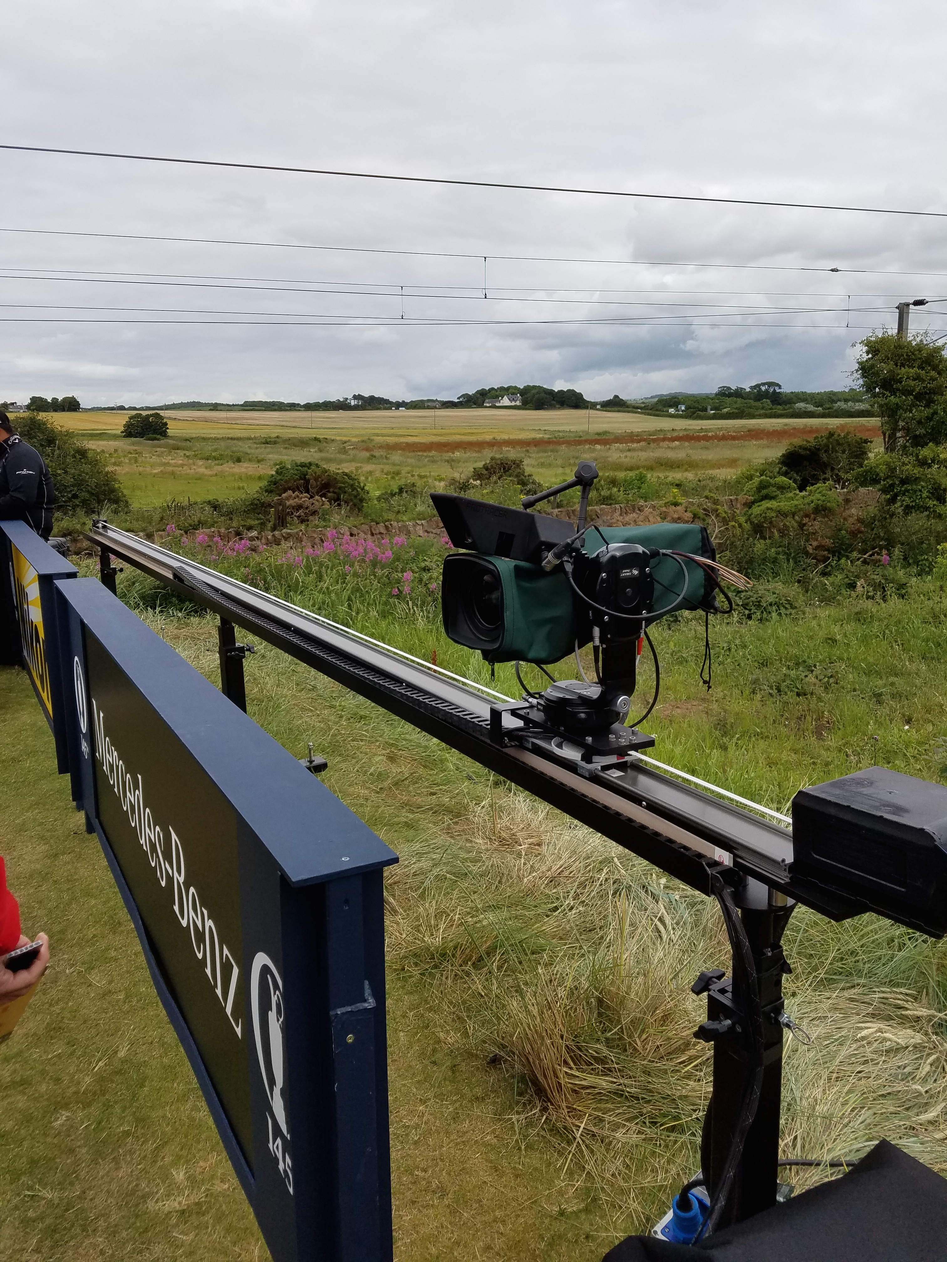 the open 2016 tee camera