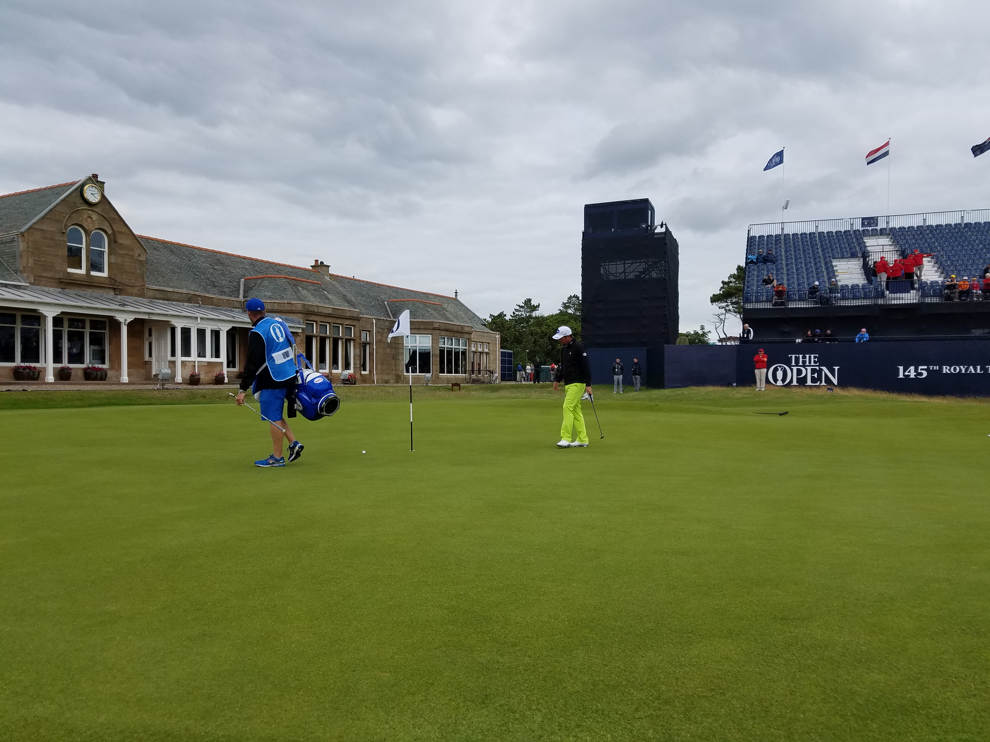 the open 2016 18th green