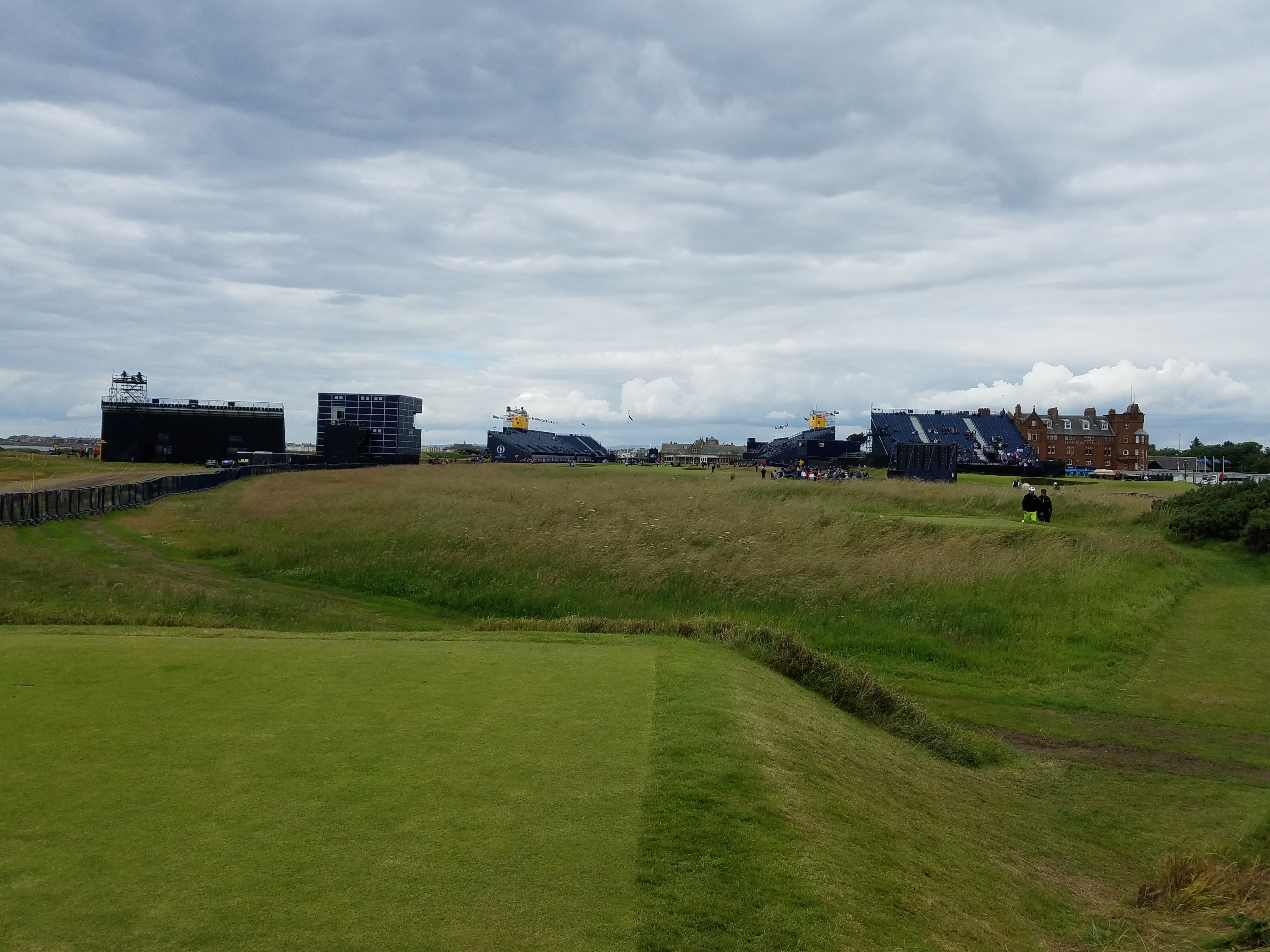 the open 2016 18th tee