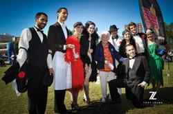 The Cast with Mayor Hazel McCallion