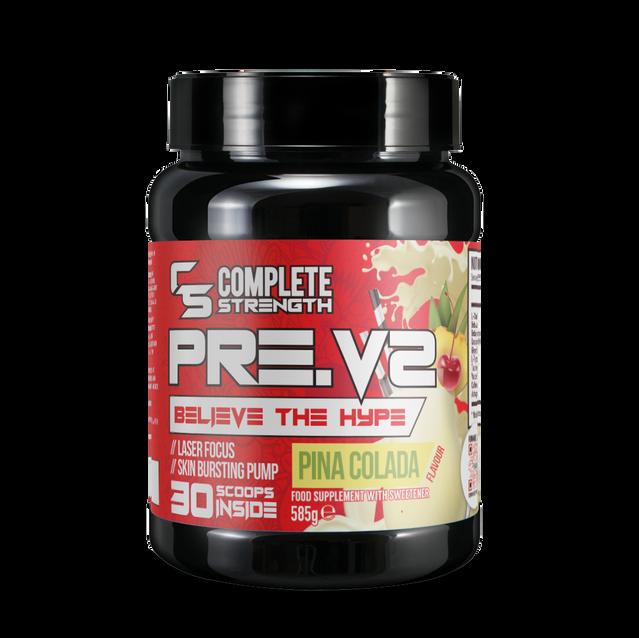 Pina Colada - PreV2 -Workout Powder