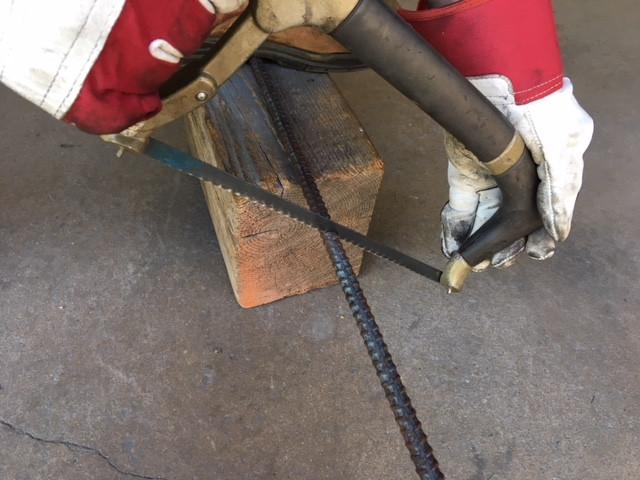 Hacksaw Rebar Cutter