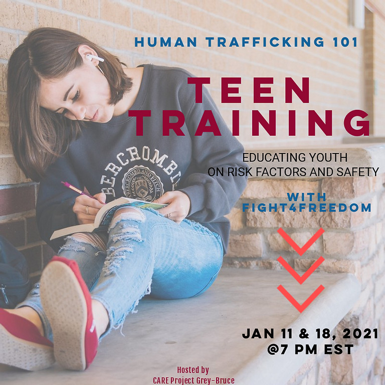 Teen Training: Part Two - Healthy Relationships, Boundaries, Consent