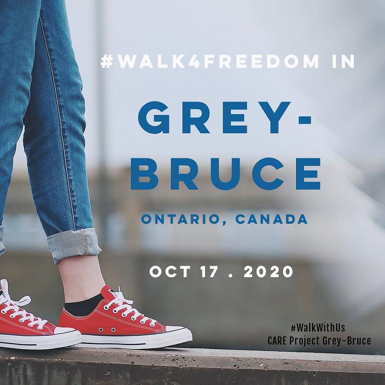 Walk4Freedom Grey-Bruce