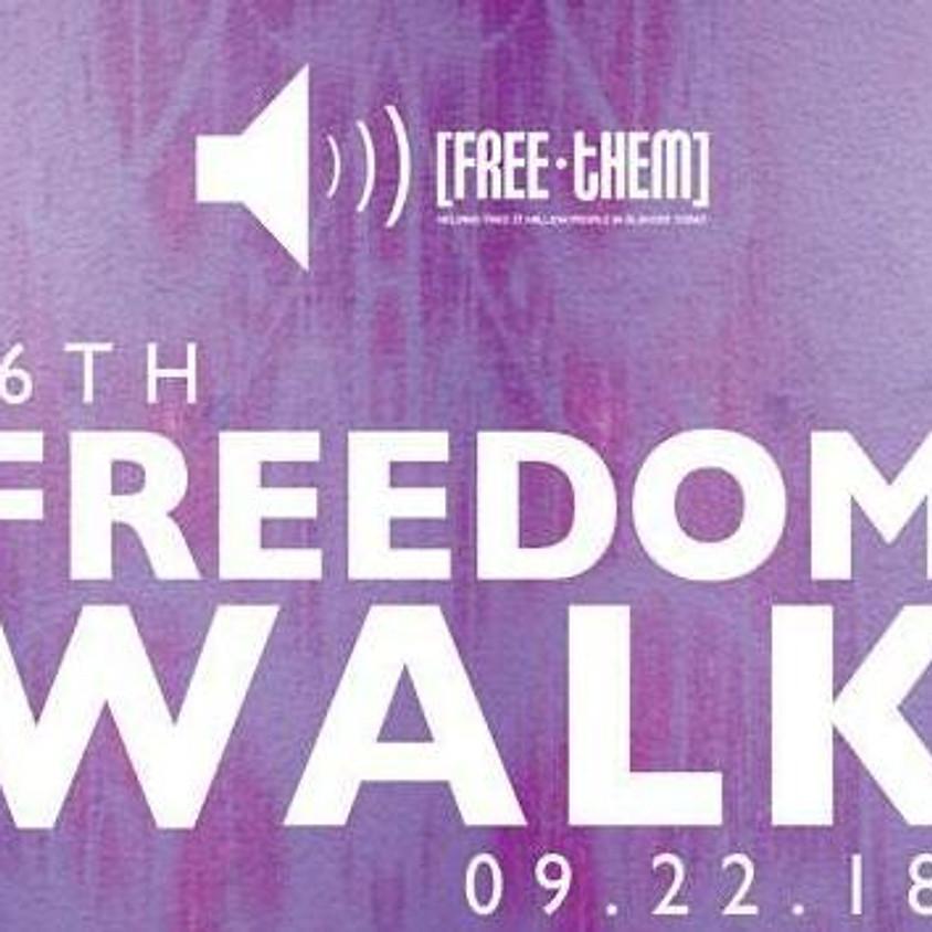 6th Free-Them Freedom Walk - September 22, 2018