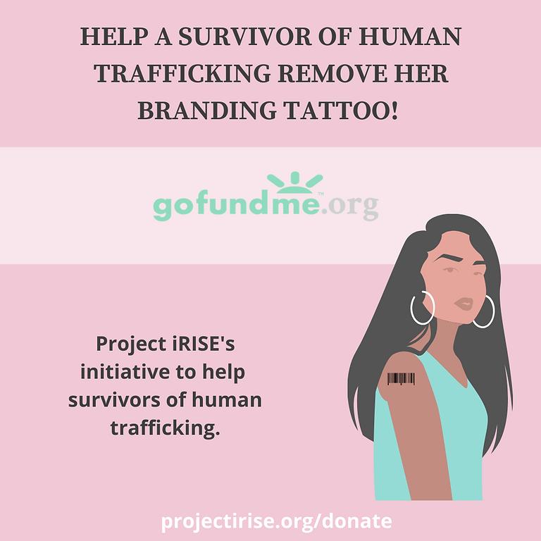 Help a Survivor of Human Trafficking Remove a Branding Tattoo