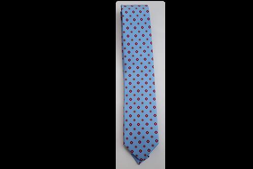 3 FOLDS Tie_ Printed Silk