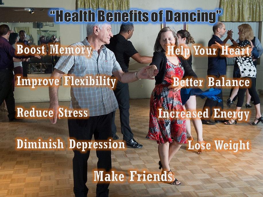 Ballroom Dancing benefits