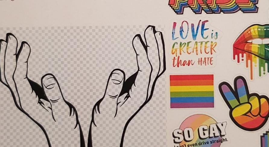 LGBTQ+ mood board
