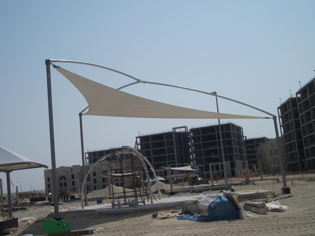مشروع المظلات الجبيل