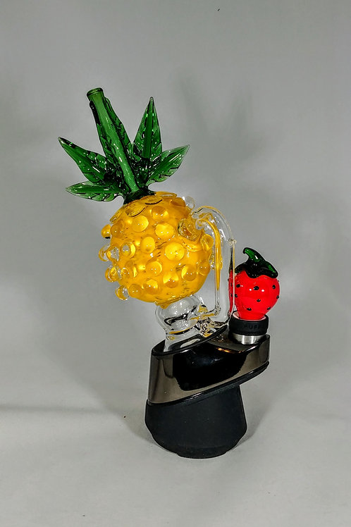 YELLOW PINEAPPLE PUFFCO ATTACHMENT